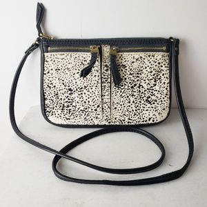 Fossil Cow Hide Leather Crossbody